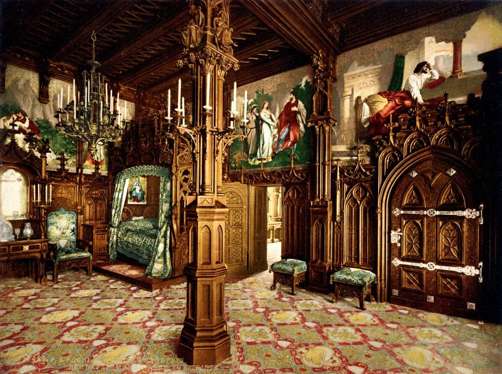 Neuschwanstein_bedroom